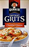 quaker cheese - Quaker Instant Grits Cheddar Cheese, 12 ct
