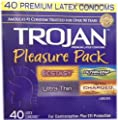 Trojan Condom Pleasure Pack Lubricated, Trojan Condom Pleasure Pack Lubricated