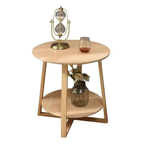 Surprising Amazon Com Axdwfd Round Table Solid Wood 2 Layer Coffee Machost Co Dining Chair Design Ideas Machostcouk
