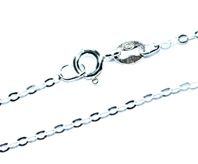 GENUINE 925 STERLING SILVER BALL/BEAD JEWELLERY NECK CHAIN NECKLACE - 1mm Guage - Various Lengths xVatTTTKOx