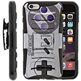 Cheap TurtleArmor | Compatible for Apple iPhone 6 Case | iPhone 6s Case [Hyper Shock] Hybrid Dual Layer Armor Holster Belt Clip Case Kickstand – Classic Game Controller