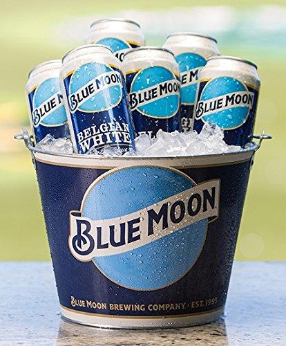 blue moon beer bucket - 3