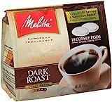 Melitta Coffee Pods for Senseo and Hamilton Beach Pod Brewers, Dark Roast (Pack of 6) image