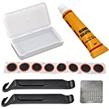 SODIAL(R) Bicycle Cycle Bike Puncture Repair Outfit Patched Kit