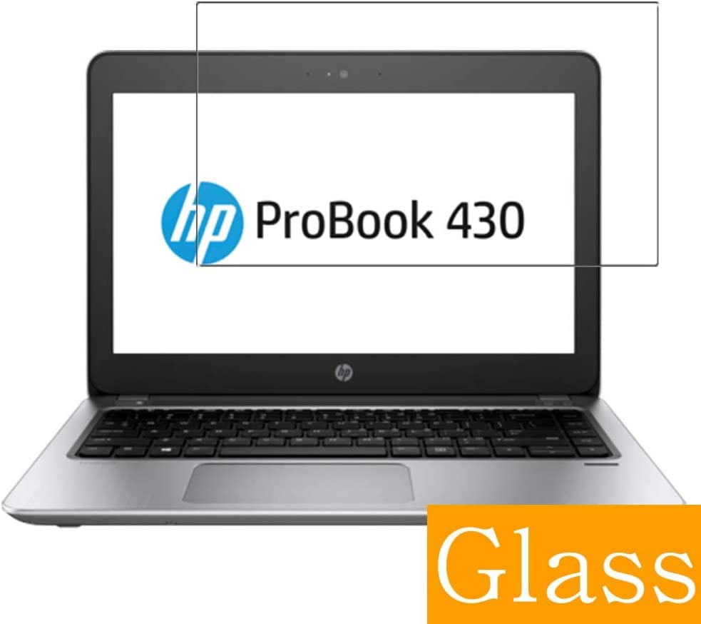 """Synvy Tempered Glass Screen Protector for HP ProBook 430 G4 13.3"""" Visible Area Protective Screen Film Protectors 9H Anti-Scratch Bubble Free"""