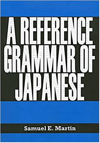 A Reference Grammar of Japanese