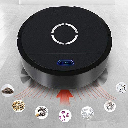Art Jian Aspirateur Robot, USB de Charge Automatique des ménages Robot Nettoyeur à Vide Intelligent Pet Balayer Tapis Cheveux sols durs