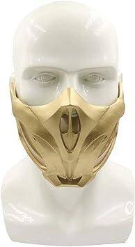 Mortal Game Kombat Scorpion Mask Resin Mask Masquerade Halloween