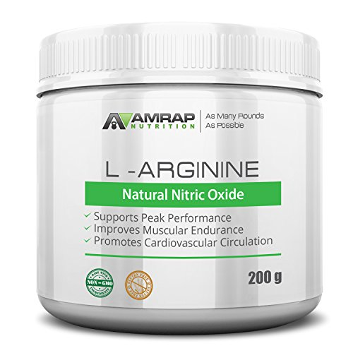 AMRAP Nutrition L Arginine Circulation Pre workout