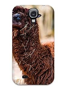 Hot Tpu Cover Case For Galaxy/ S4 Case Cover Skin - Alpaca