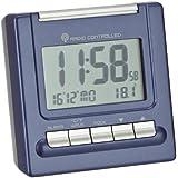 Wetterladen Bergamo 89.1087.06 - Radiodespertador con termómetro, color azul