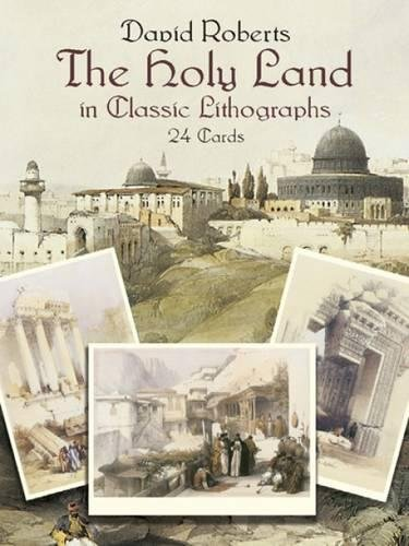 The Holy Land in Classic Lithographs: 24 Cards (Dover Postcards) 24 Lithograph