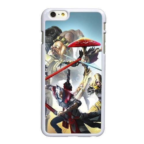 Y5J56 battleborn R1F2CH coque iPhone 6 Plus de 5,5 pouces cas de couverture de téléphone portable coque blanche DJ7RWD3MX