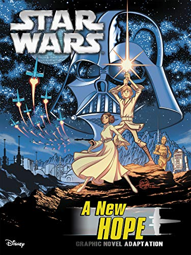 Star Wars: A New Hope Graphic Novel Adaptation (Star Wars Movie Adaptations)
