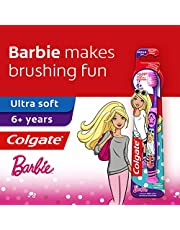 Colgate Kids Toothbrush, Barbie (5-9 Years), 1 count