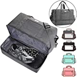 ACECHA Gym Bag Shoes Compartment Shoulder Bag Travel Duffel Bag Swim Bag for Women and Men (Gray XL)