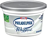 Kraft Philadelphia Whipped Plain Cream Cheese Spread, 8 Ounce - 12 per case.