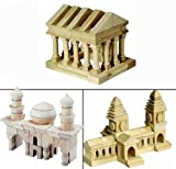 ": ""Guidecraft 124-Piece Arabian, Oriental and Greek Wooden Block Set"""
