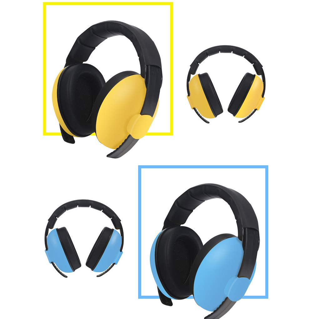 Vkospy Orejeras ajustables beb/é infante audiencia para reducci/ón de ruido orejeras protecci/ón auditiva del protector
