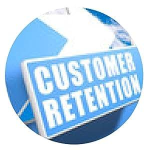 alfombrilla de ratón Retención de clientes - ronda - 20cm