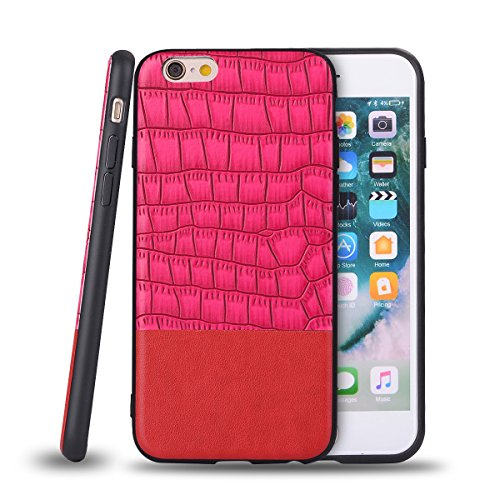 TOTOOSE iPhone 6 Plus Case,Durable Protective Case Back Cover [Scratch/Dust Proof] Slim Fit Covers Shockproof Rugged Full-body Protective Cover for iPhone 6 Plus - Peach
