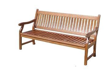 Amazonde Gartenbank New Jersey 2 Sitzer Holzbank Aus Hartholz