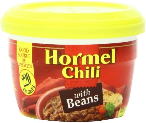 Chilis & Stews: Hormel Chili with Beans