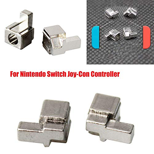 millet16zjh 2Set Metal L+R Buckle Lock Replacement for Nintendo Switch NS Joy-Con Controller
