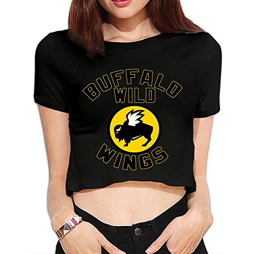 faktor04-black-buffalo-wild-wings-short-sleeve-sexy-lo-shi-shirts-for-woman-size-s