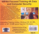 HIPAA Focused Training 4A Data and Computer Security