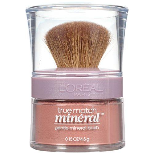 L'Oreal Paris True Match Gentle Mineral Blush, Bare Honey [492] 0.15 oz