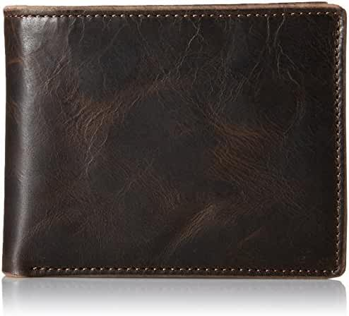 Fossil Men's Anderson Bifold Wallet with Flip ID Window
