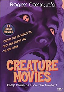 Classic Creature Movies I - (Roger Corman): Creature From The Haunted Sea / Beast From Haunted Cave / The Wasp Woman from Bfs Entertainment