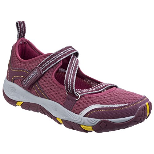 Norton Shoes WINE Breathable Ladies Womens Hikers Lightweight Cotswold YBxwEC0nqn