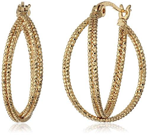t-tahari-gold-double-wire-textured-hoop-earrings