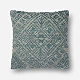 Loloi Pillow, Down Filled - Blue Pillow Cover, 22'' x 22''