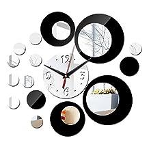 Constructan(TM) new acrylic large wall clock quartz watch diy clocks 3d stickers living room europe reloj de pared sticker horloge murale