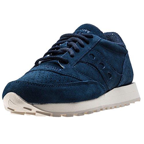 Saucony Herren Marine Jazz Original Wildleder Sneakers Marine