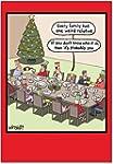 CAB1703 Weird Relative Christmas Humo...