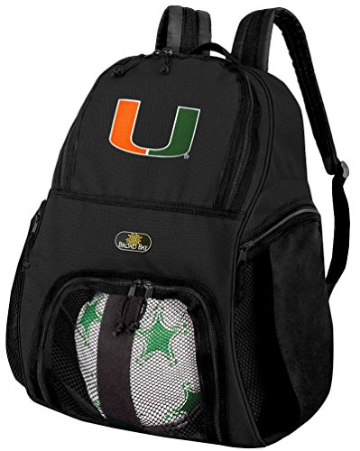 University of Miami Soccer Backpack or Miami Canes Volleyball - Miami Side Bay