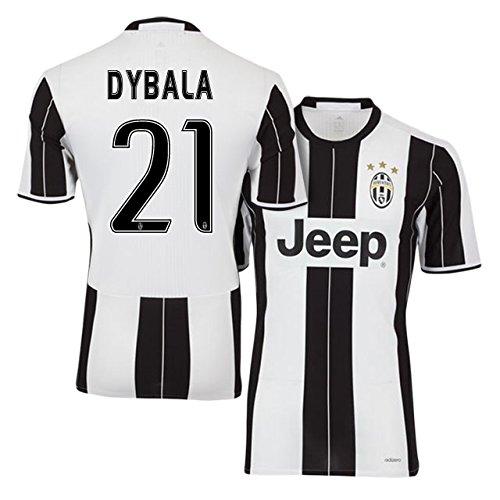 size 40 7f69c c8b39 Dybala Juventus Home Youth Soccer Jersey & Shorts & Kit Bag ...