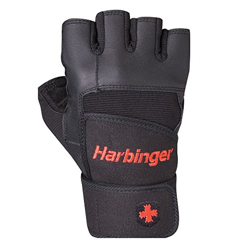 Harbinger Wristwrap Weightlifting Cushioned Leather