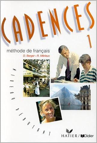 Lire Cadences : Méthode de français, niveau débutant pdf, epub ebook