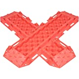 New Recovery Traction Tracks Sand Mud Snow Track Tire Ladder 4WD Pale Red