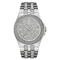 Stainless Steel Swarovski Crystal Watch