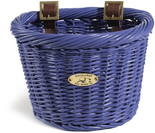 Nantucket Bicycle Basket Co. Buoy & Gull Collection Children's D Shape Basket