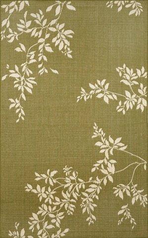 - Liora Manne Terrace Vine Rug, Indoor/Outdoor, 23-Inch by 7-Feet 6-Inch, Green