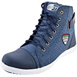 Essence Men's Blue Casual Shoes