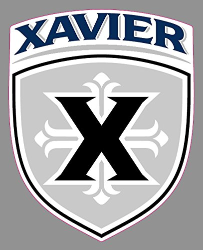 Xavier University Musketeers Vinyl Decal |6 in Logo Truck Emblem Windows Laptops | Xavier University Musketeers New Skin.]()