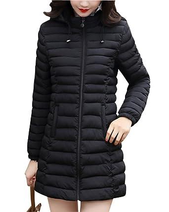Mujer Abrigo De Invierno Chaqueta Peso Ligero Mantener Caliente Outerwear: Amazon.es: Ropa y accesorios